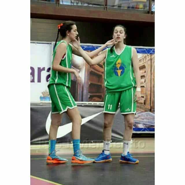 Blanca Millán e la sorella Silvia
