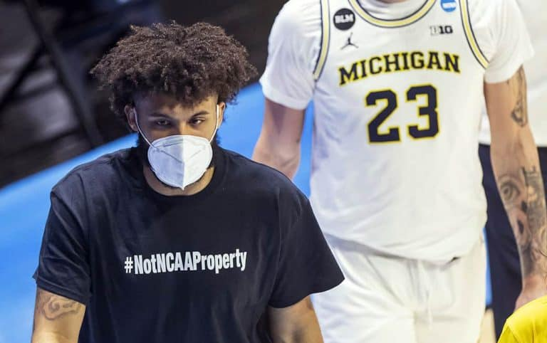Isaiah Livers #NotNCAAProperty March Madness