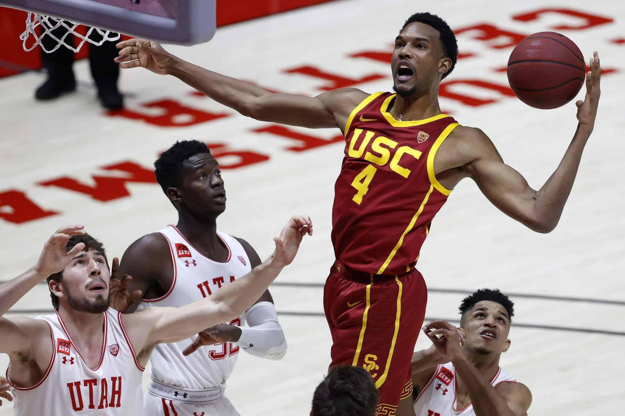 BasketballNcaa - USC Mobley