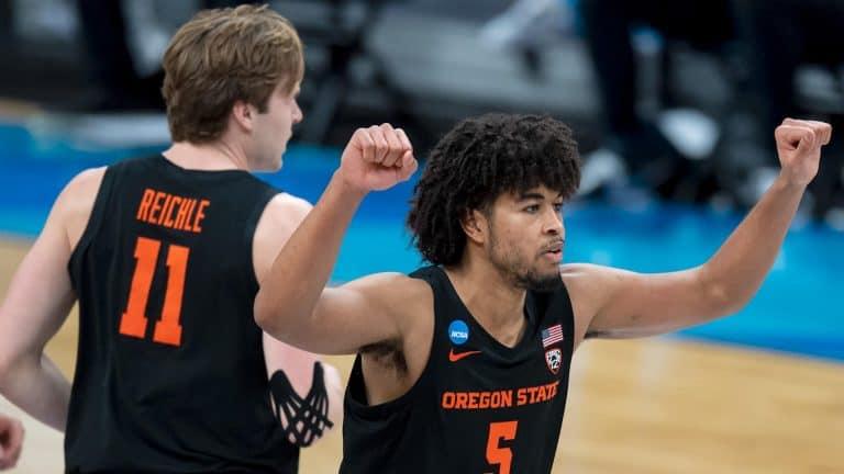 Oregon State upset Loyola