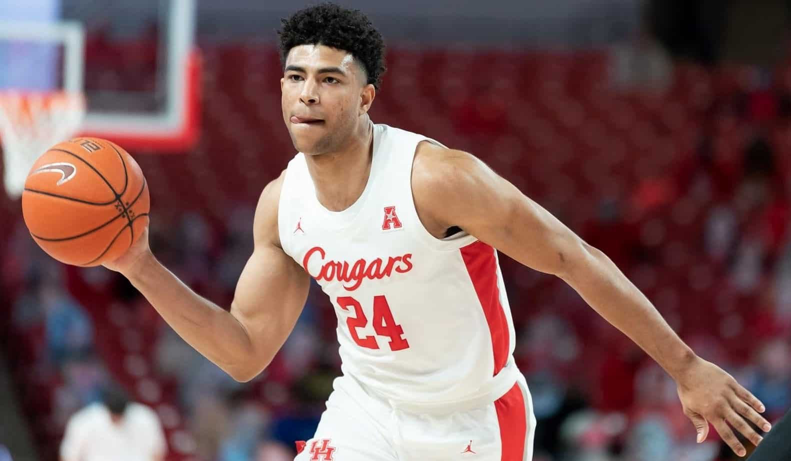Quentin Grimes March Madness 2021 Houston