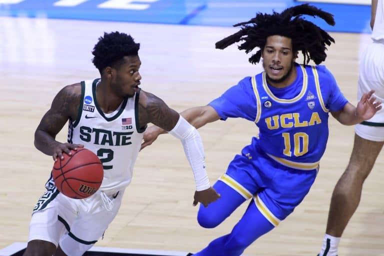 UCLA Michigan State March Madness 2021
