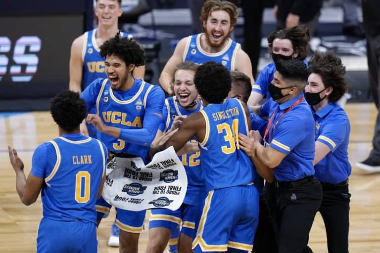 UCLA Oral Roberts Oregon State March Madness 2021