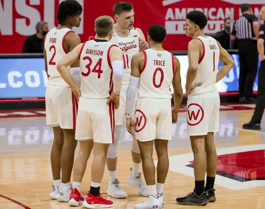 Wisconsin March Madness 2021