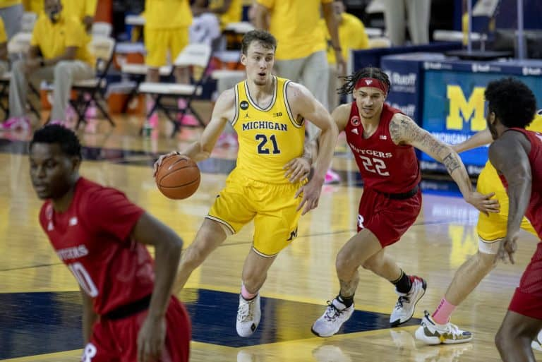 Franz Wagner Michigan Rutgers