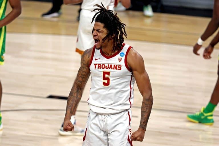 Isaiah White USC Oregon Sweet 16 West Gonzaga