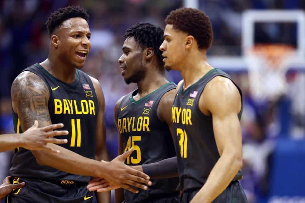 L'asse di Baylor: Jared Butler, Mark Vital e Davion Mitchell