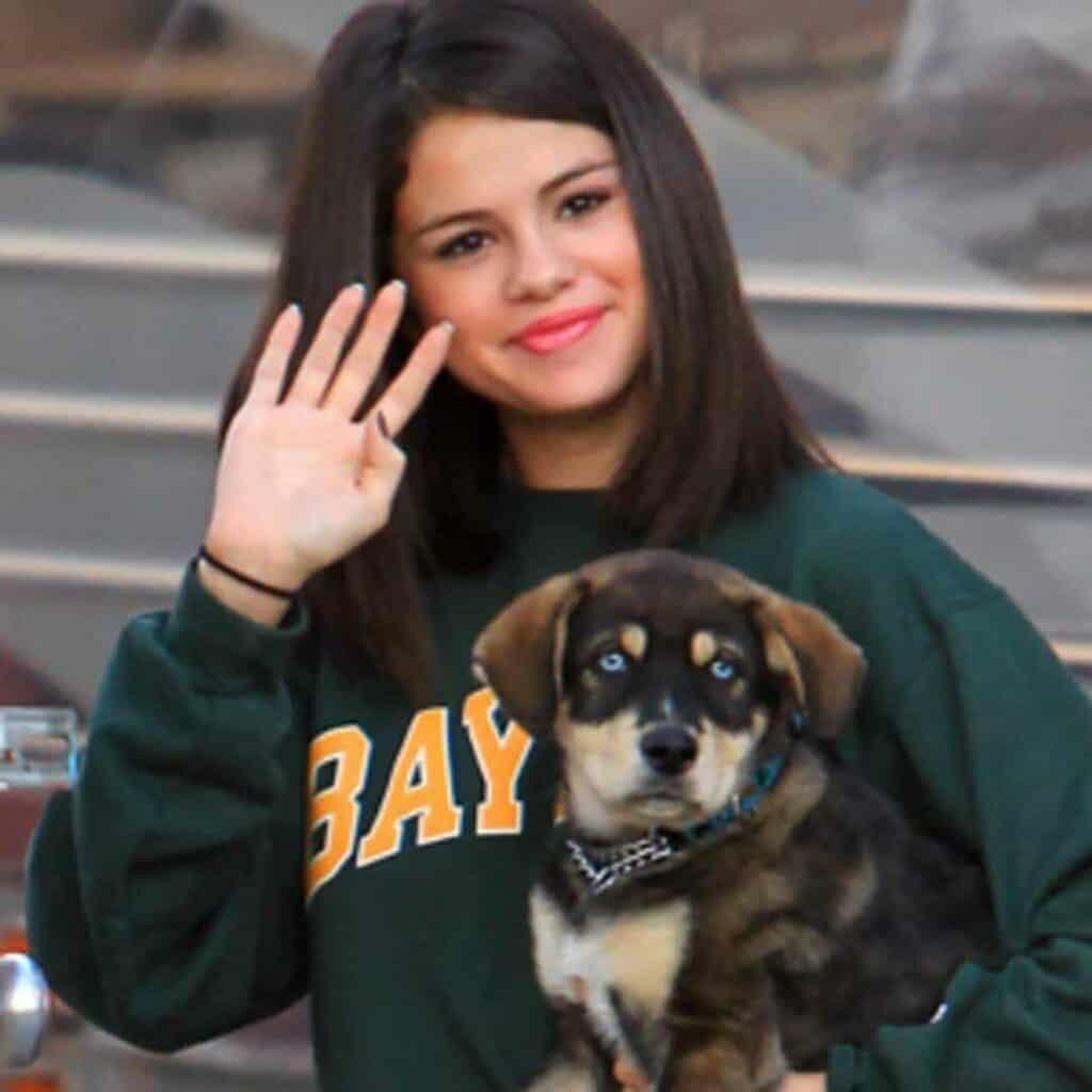 Selena Gomez e il suo Baylor