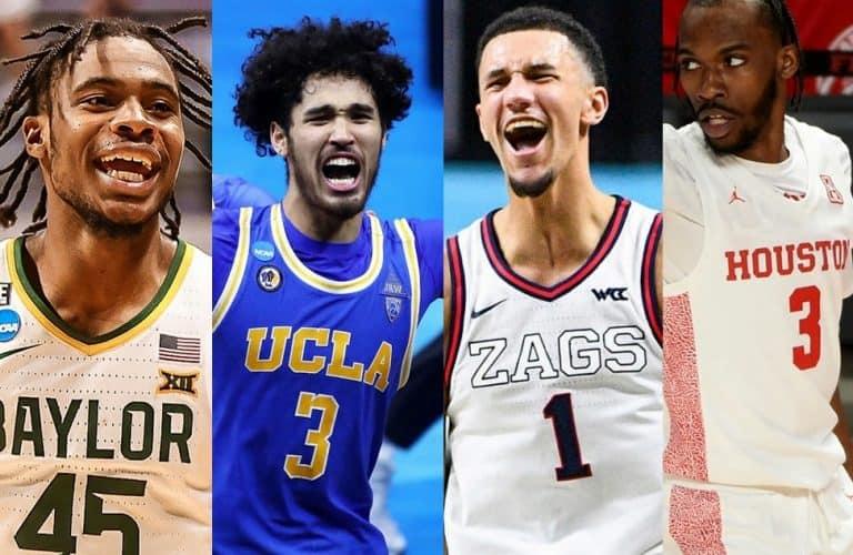 Final Four 2021 Baylor UCLA Gonzaga Houston