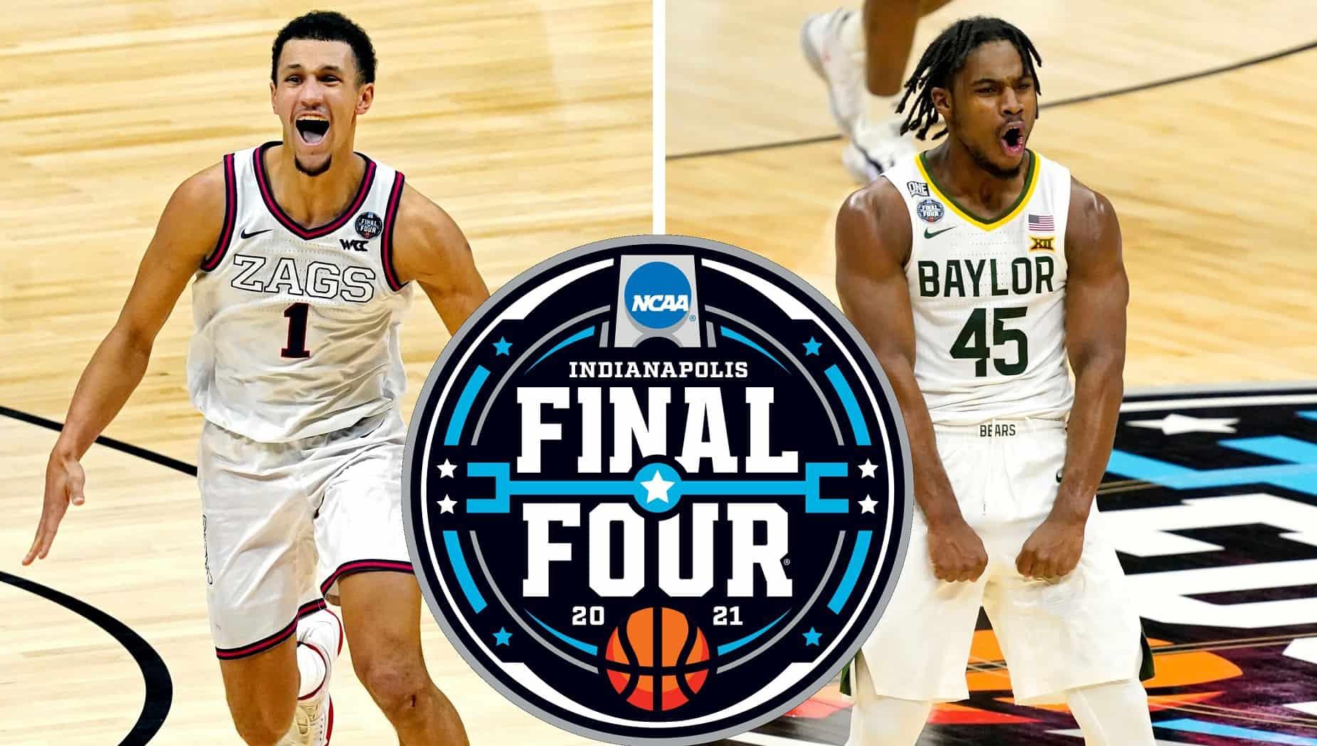Gonzaga Baylor Finale NCAA