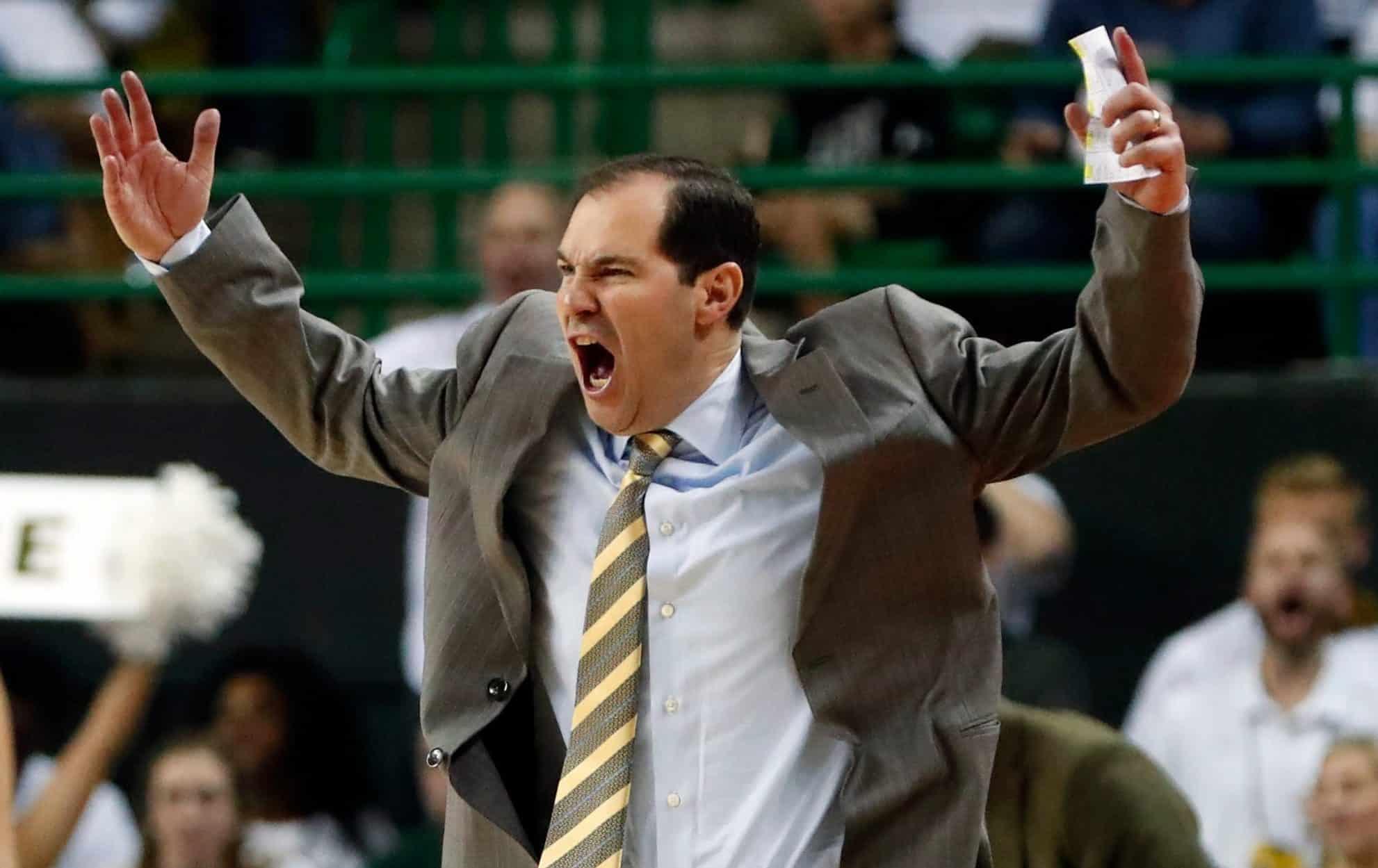 Scott Drew USP_NCAA_Basketball__Kansas_at_Baylor