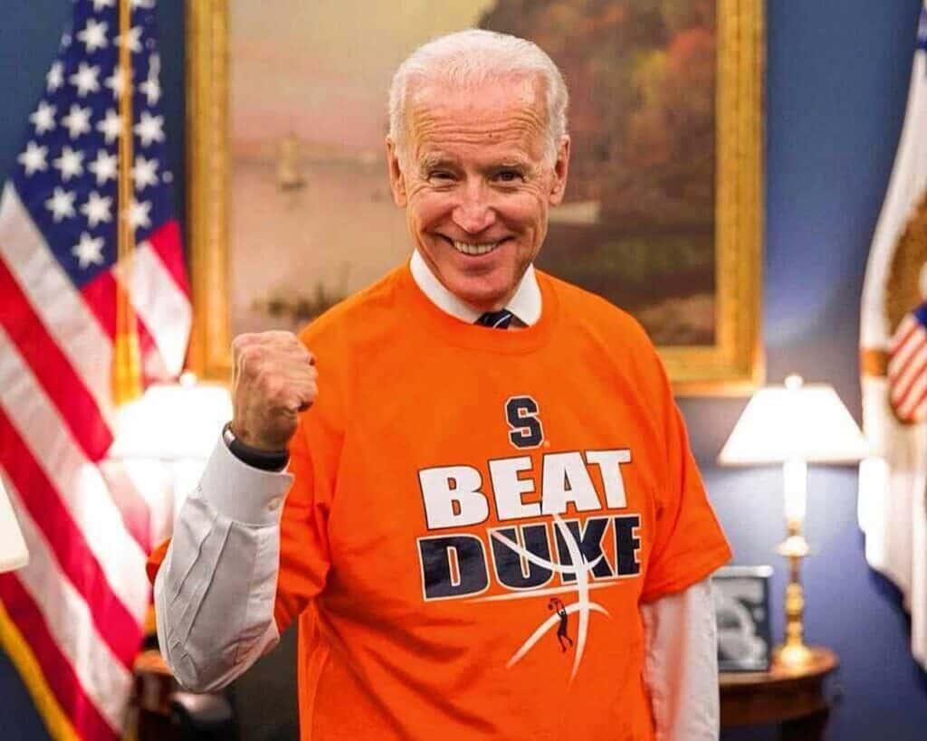Biden Beat Duke