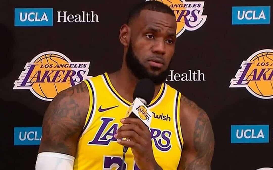 LeBron James e la polemica sui play-in