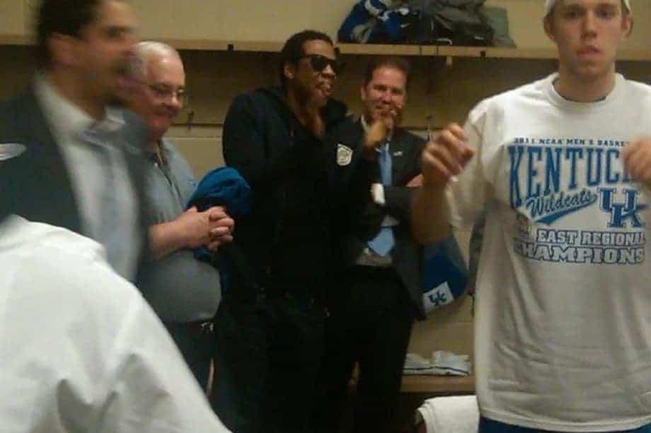 Jay Z festeggia il titolo di Kentucky