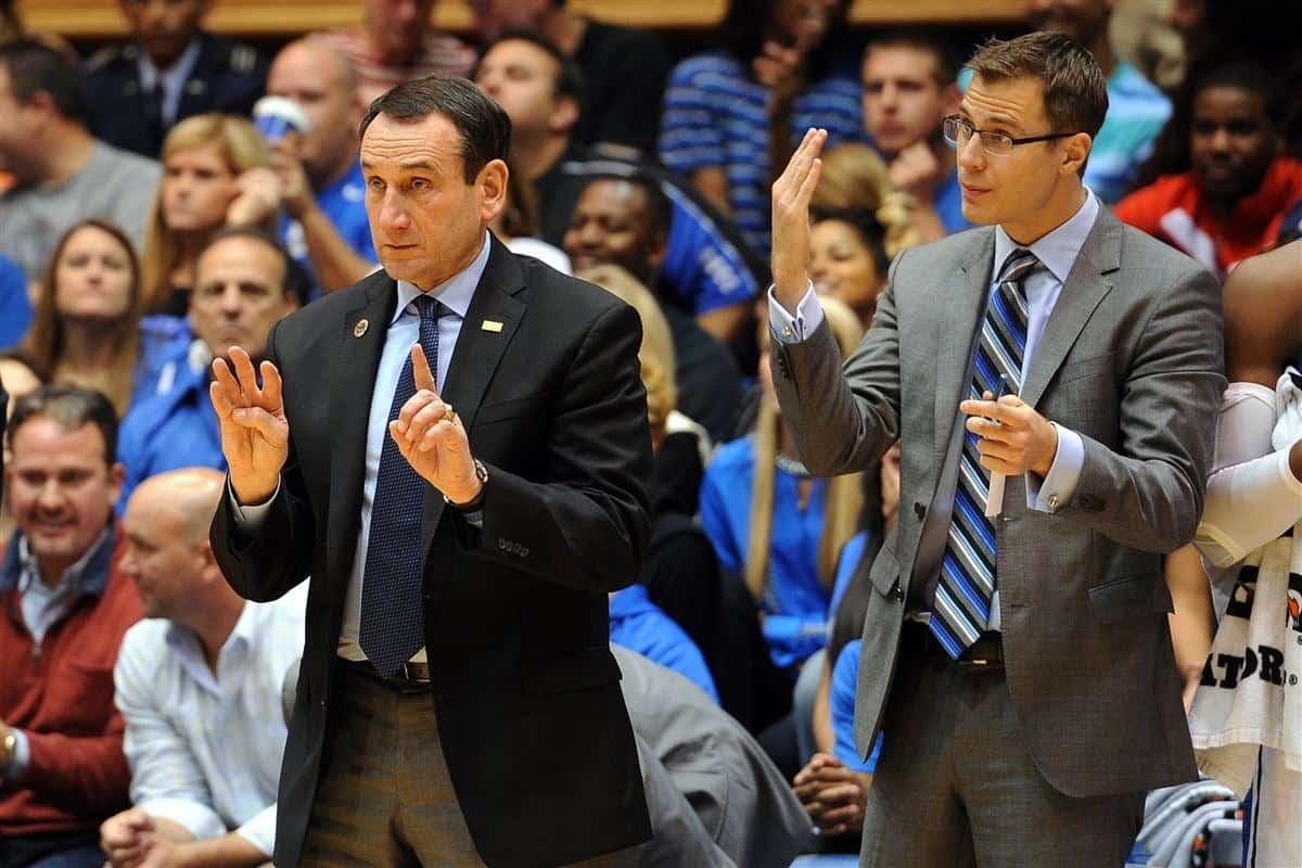Coach K Jon Scheyer