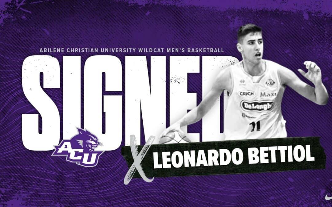 Leonardo Bettiol, da Treviso al Texas con Abilene Christian