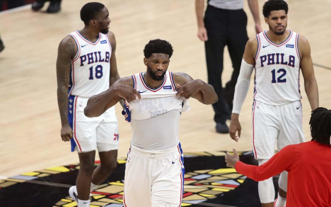 Il tracollo mentale dei Philadelphia 76ers