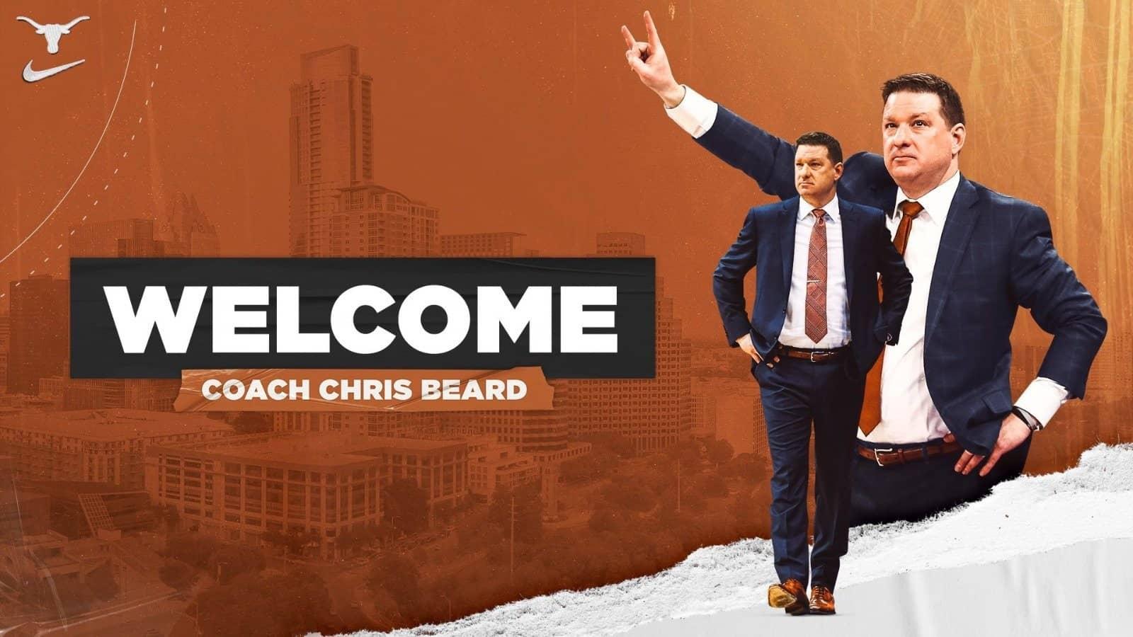 Chris Beard welcome Texas
