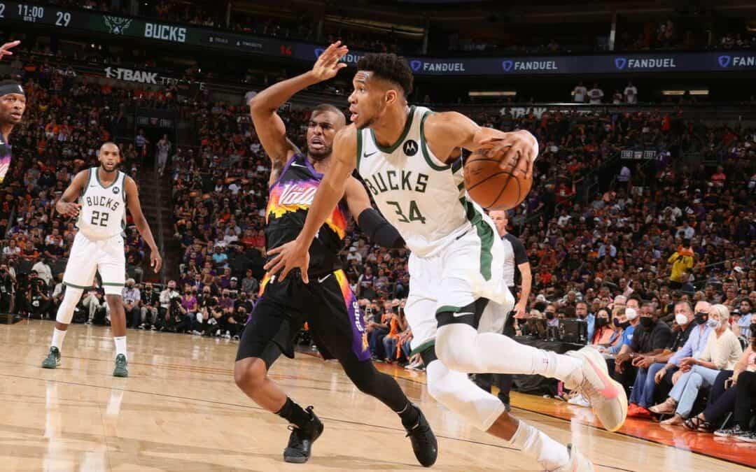 Phoenix Suns vicini all'anello, ma Giannis non molla