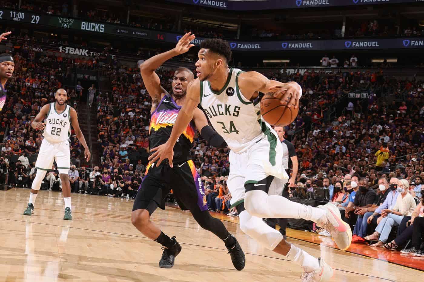Phoenix Suns - Giannis Antetokounmpo